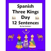 Spanish Three Kings Day Sentences Worksheet - Navidad