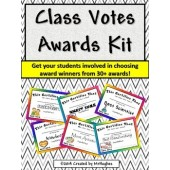 """Class Votes Awards"" Kit-[End of the Year/ After Break/ Elections]"