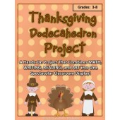 Thanksgiving Dodecahedron Project Kit