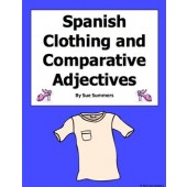 Spanish Comparative and Demonstrative Adjectives With Clothing Sentences