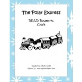 "Polar Express ""READ"" Bookmarks (Printable & Craft Version) FREE!"