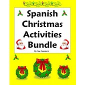 Spanish Christmas Activities Bundle - Practice, Vocabulary and More!