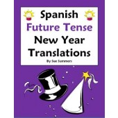 Spanish New Year Future Tense Sentences and Conjugations