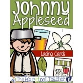 Johnny Appleseed {Apple} Lacing Cards