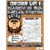 Order Up! Planets in Our Solar System