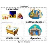 Spanish Christmas / La Navidad Booklets & Presentation VERSION 2