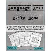 Language Arts Daily Dose {Weeks 1-4}