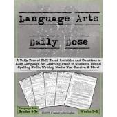 Language Arts Daily Dose {Weeks 5-8}