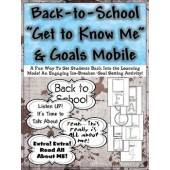 Back-to-School ʺGet to Know Meʺ & Goals Mobile {Grades 6-9}