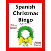 Spanish Christmas / Holiday Bingo - 35 Game Cards Plus Vocabulary