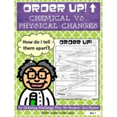 Order Up! Chemical vs. Physical Changes
