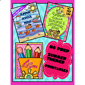 SUMMER SCHOOL READING, WRITING AND MATH BUNDLE