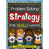 Word Problems / Problem Solving Strategy that REALLY Works!!
