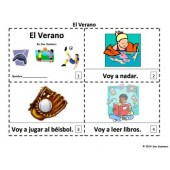 Spanish Summer 2 Emergent Reader Booklets - El Verano