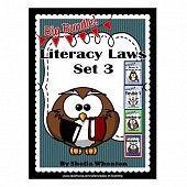 Literacy Laws Bundle - Set 3:  Common Core Reading & Writing Tools