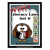 Literacy Laws Bundle - Set 6:  Common Core Reading & Writing Tools