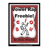 Vowel Rap FREEBIE!  A Rhyme to Teach Vowel Names and Sounds!