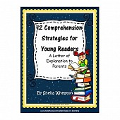 12 Comprehension Strategies for Young Readers FREEBIE! - A letter for parents
