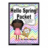 Hello, Spring Packet:  Literacy, Math and More!