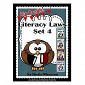Literacy Laws Bundle - Set 4:  Common Core Reading & Writing Tools