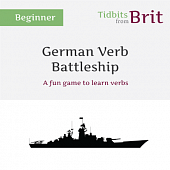 German Verb Battleship (great for Substitutes :))