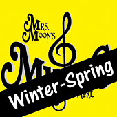 Mrs. Moon's Add-a-long Songs: Winter-Spring Collection