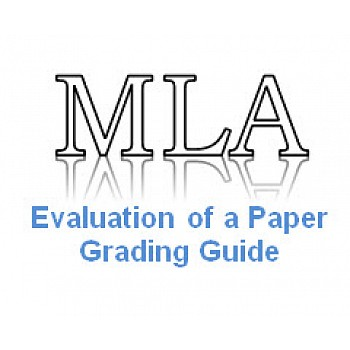 Grading Guide Evaluation of a Paper