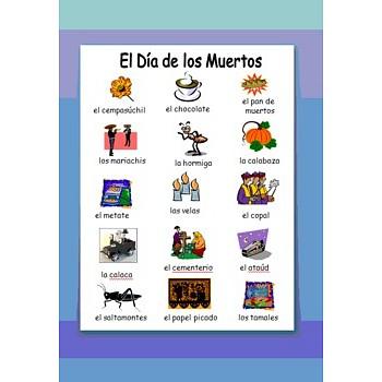 Day of the Dead / Dia de los Muertos Images & Vocabulary
