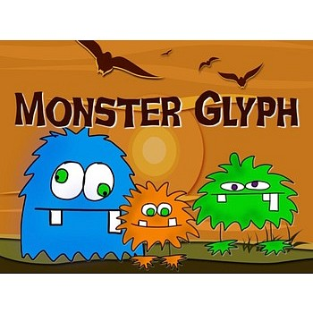 monster glyph for halloween fun and following directions - Halloween Following Directions