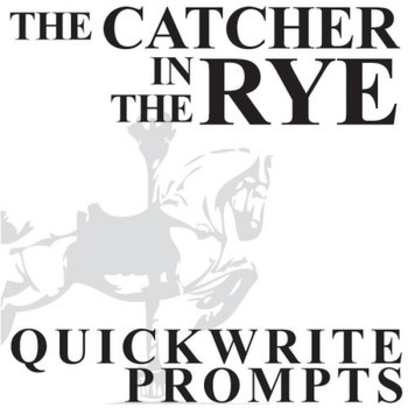 possible essay questions for catcher in the rye Possible variants of the catcher in the rye essay topics if you need to come up with catcher in the rye essay topics in order to write an interesting essay on jd salinger's novel, we advise you to use our service with a big database of authors who can help you with the writing assignments on various student subjects.