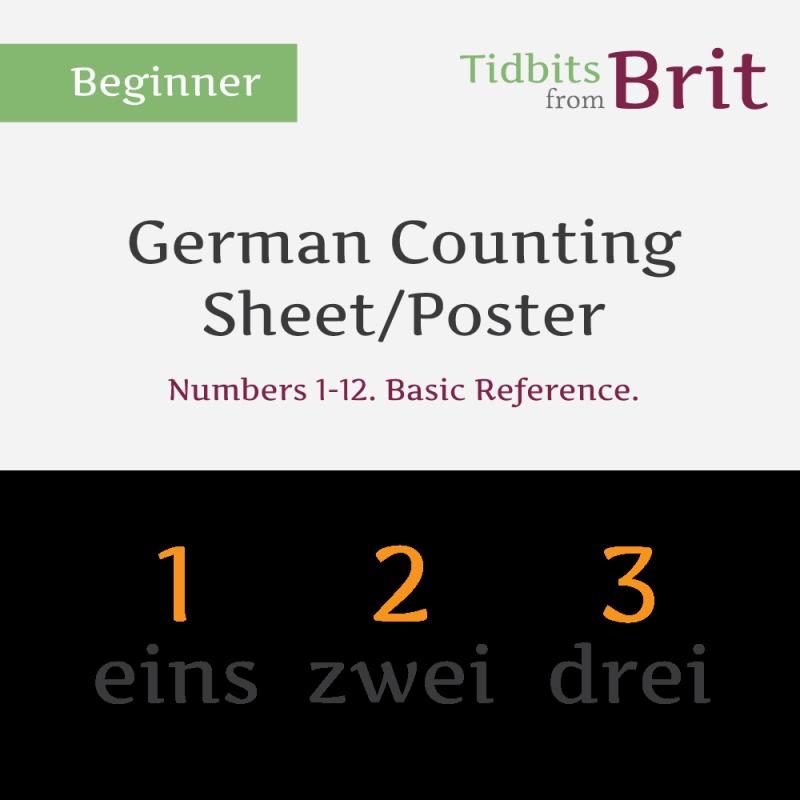counting sheet
