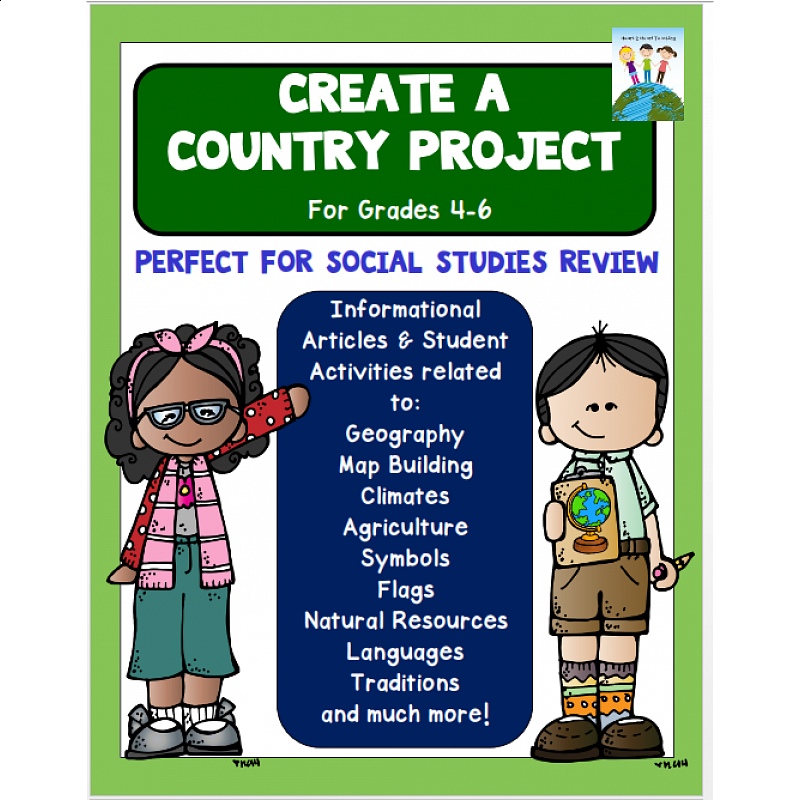 Your Own Country Project & Checklist