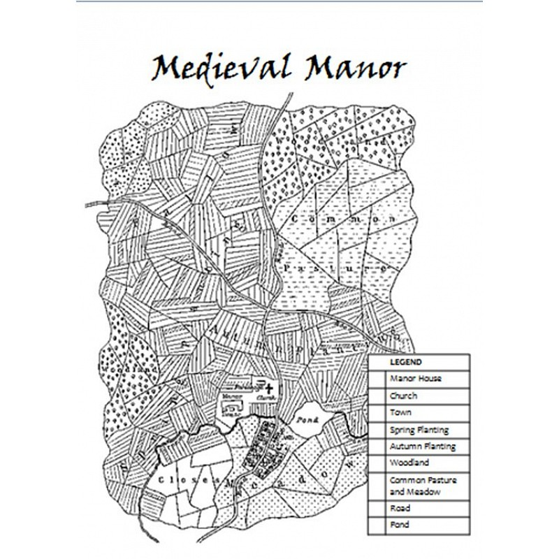 Pyramid Manorialism Middle Ages PowerPoint Posters and Worksheet – Middle Ages Worksheets