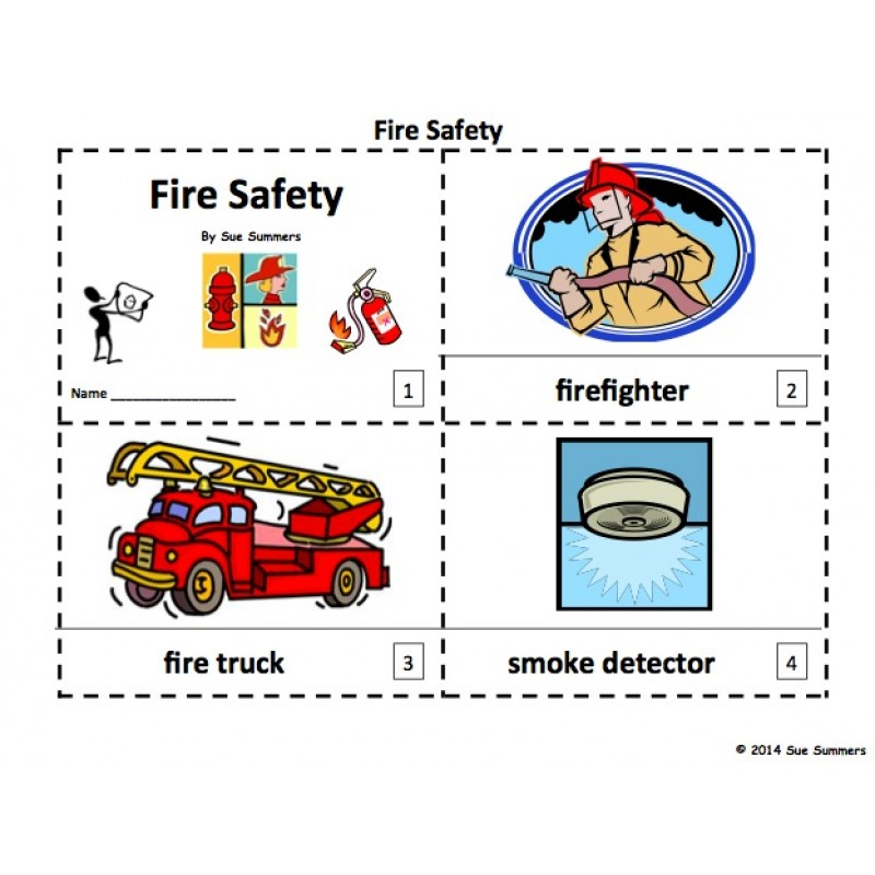 Safety 2 Emergent Reader Booklets - 12 Pages