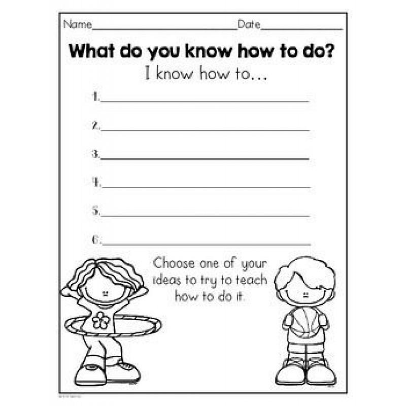 Free grammar worksheets for first graders