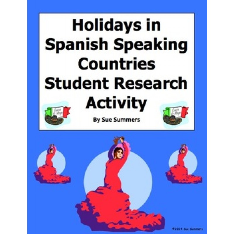 spanish essay about holidays A spanish to english speech and essay about holidays, hobbies, routines etc (english translation of text in italics.