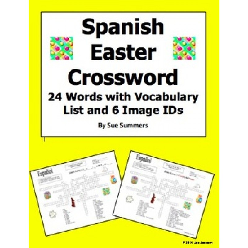Easter Crossword Puzzle Worksheet and Vocabulary – Crossword Puzzle Worksheets