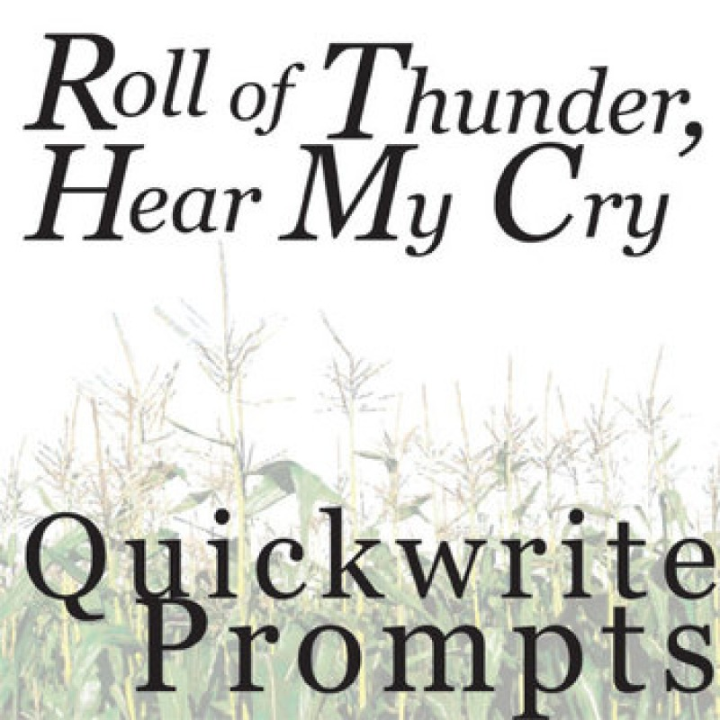 roll of thunder hear my cry essay on cassie Roll of thunder, hear my cry vii teacher notes roll of thunder, hear my cry is a novel about the black experience in america cassie logan, the protagonist, begins.