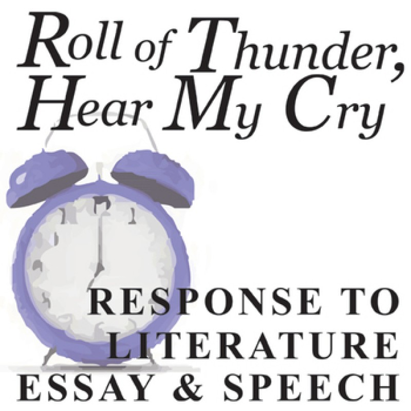 "essay questions on roll of thunder hear my cry ""roll of thunder, hear my cry"" portrays a young girl, cassie's, black family who   even some of the roots of our modern society need to be called into question."