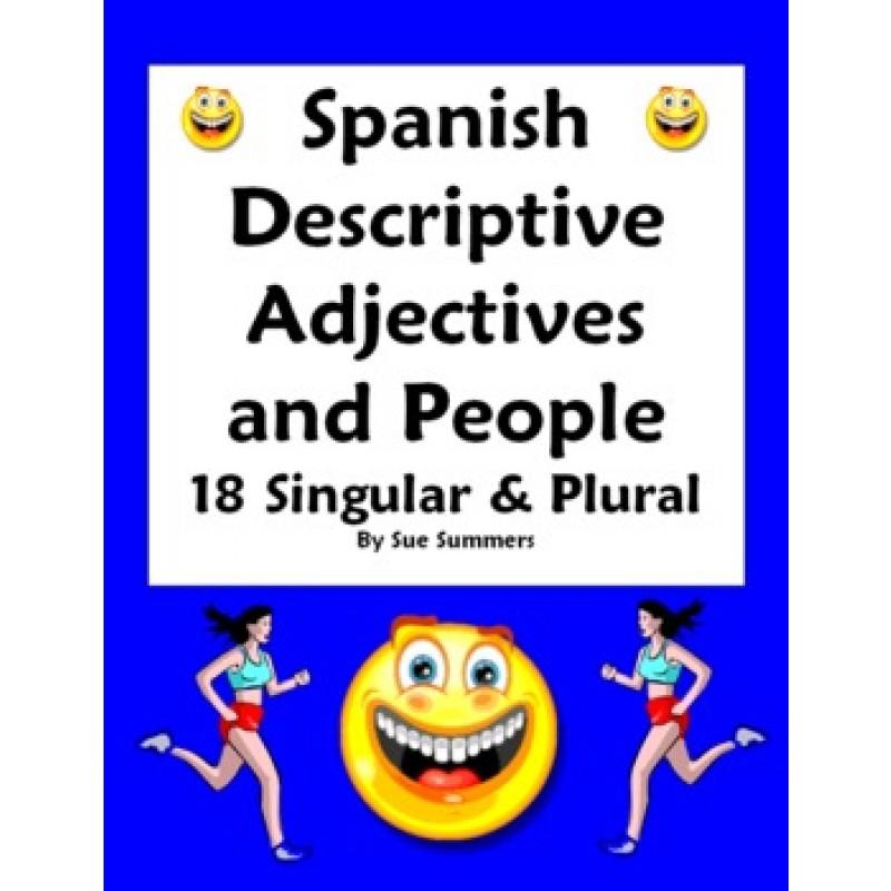 Adjectives People Worksheet Number Gender Agreement – Spanish Adjectives Worksheet
