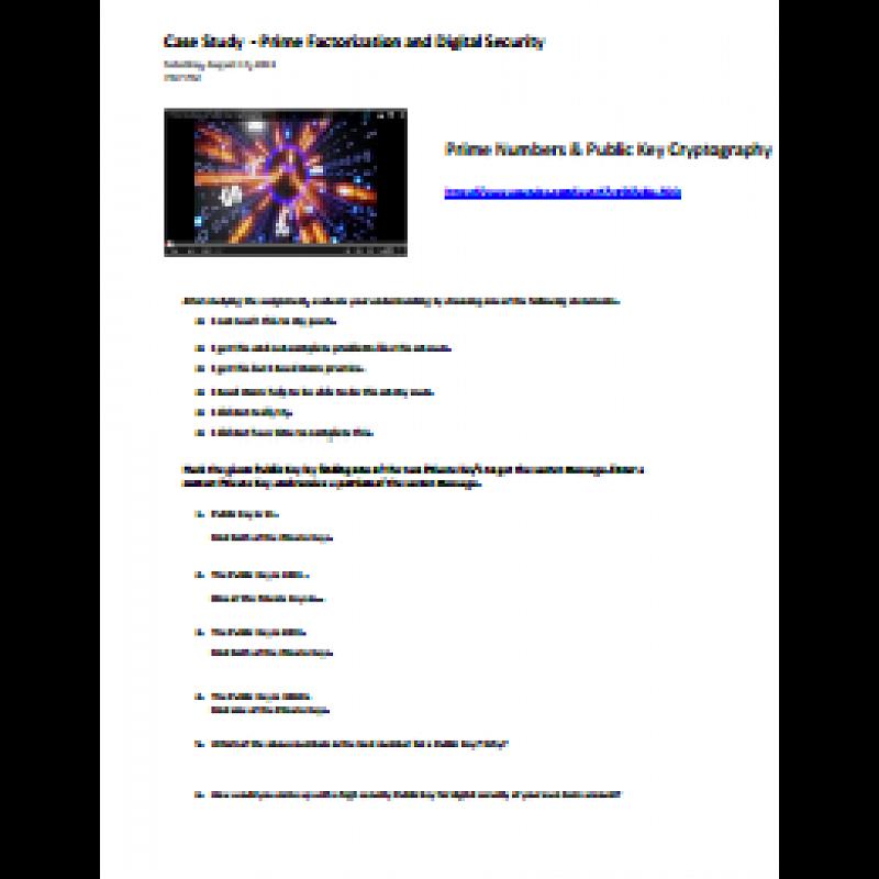 business case study lesson plan