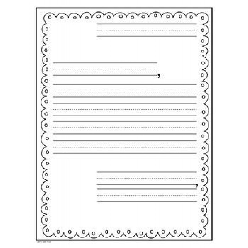 Letter writing paper for 2nd grade free letter writing for Letter writing template for first grade