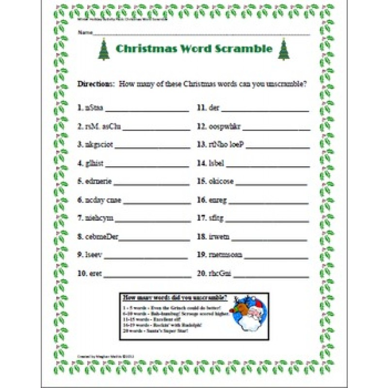picture about Holiday Puzzles Printable called Winter season Getaway Term Appear 5th Quality - 1000 tips more than